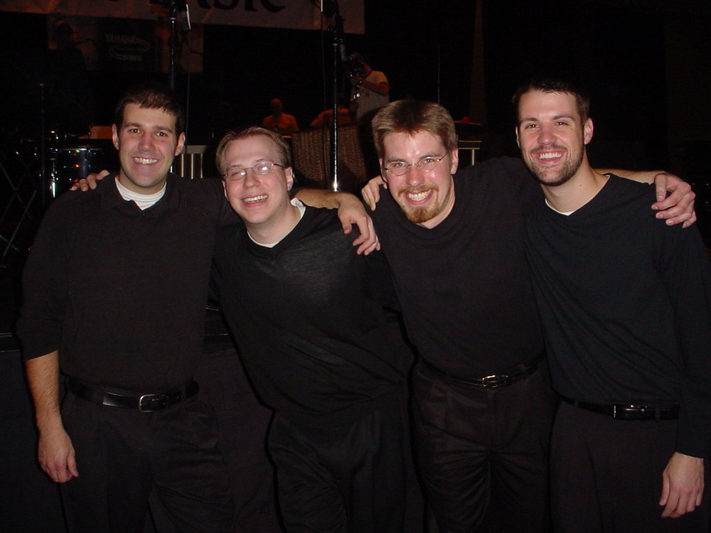 Base4 following our PASIC 2003 Showcase Concert