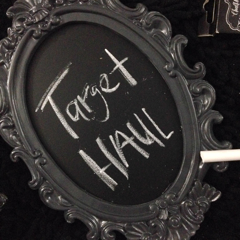 Target Haul Chalkboard