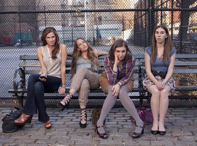 Zosia-Mamet-Lena-Dunham-Jemima-Kirke-and-Allison-Williams-in-GIRLS-Season-1-Promo-1