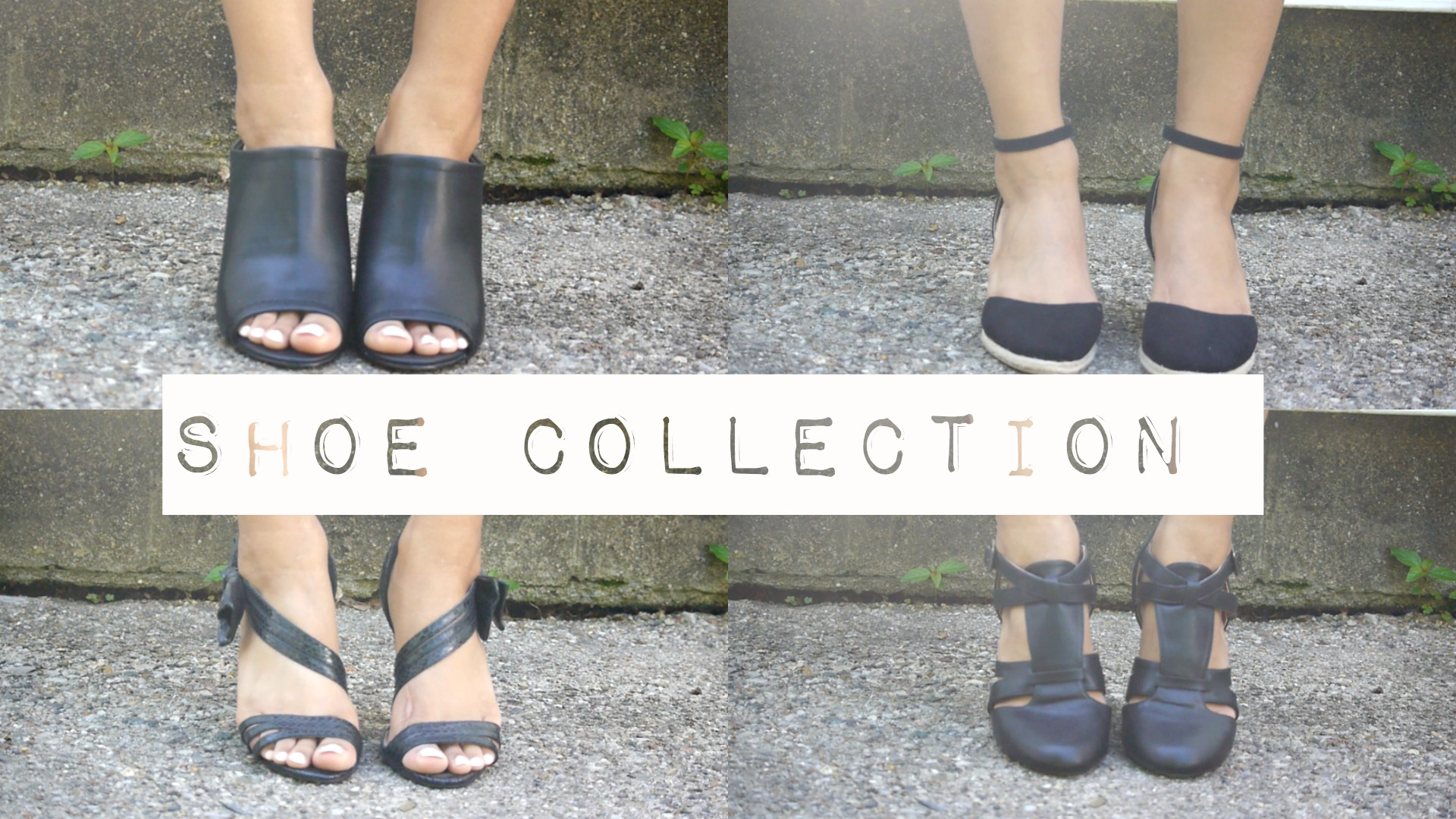 shoe collection heels wedges