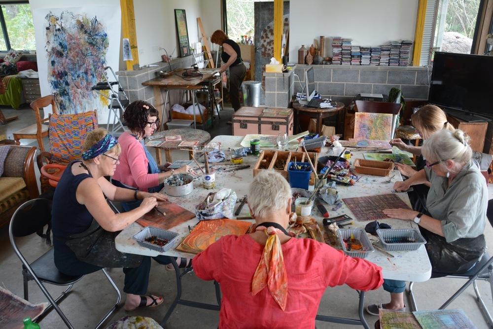 artmaking with beeswax as an encaustic medium workshop