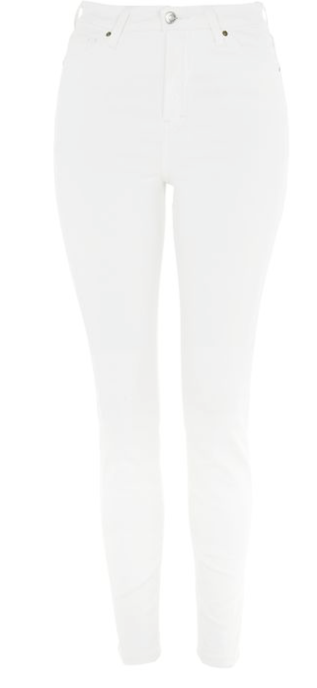 white jeans from topshop