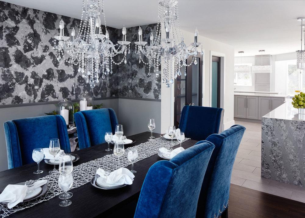 Suburban Glamour Residence