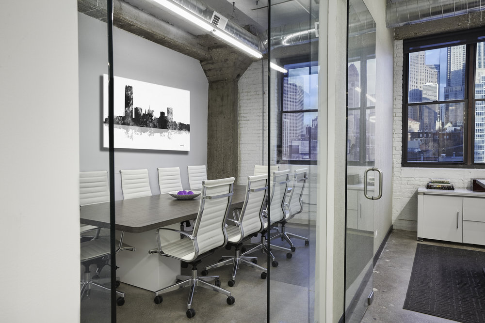 Contemporary Medical Sales Office
