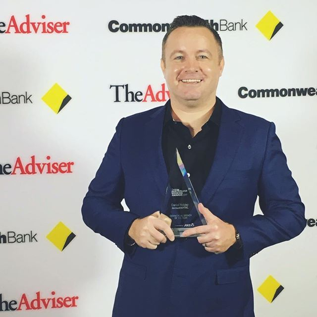 Commercial Broker of the Year - 3 years in a row! We couldn't do it without all of you. Thanks from Dan and the HoldenCAPITAL team