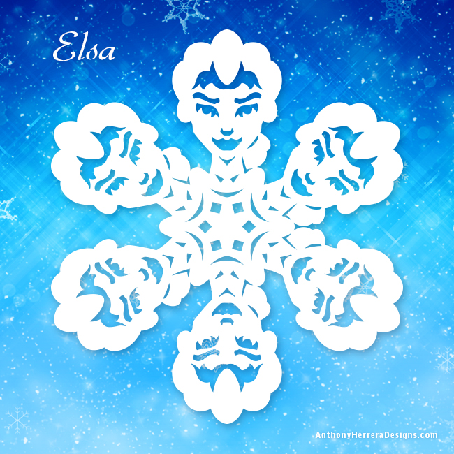Frozen Snowflakes  Anthony Herrera Designs