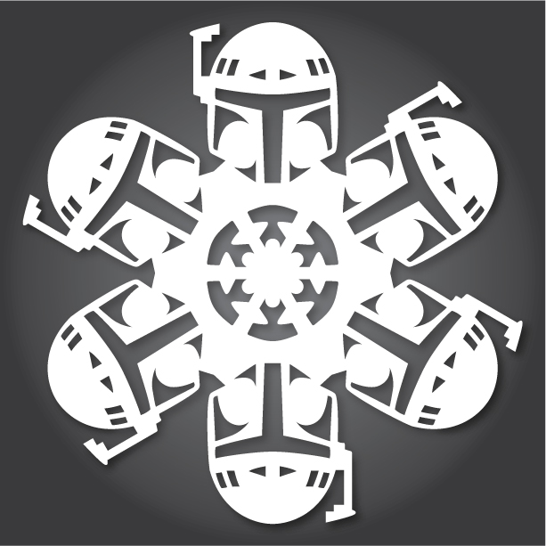 Star wars 2013 collection anthony herrera designs download your own snowflake patterns pronofoot35fo Image collections