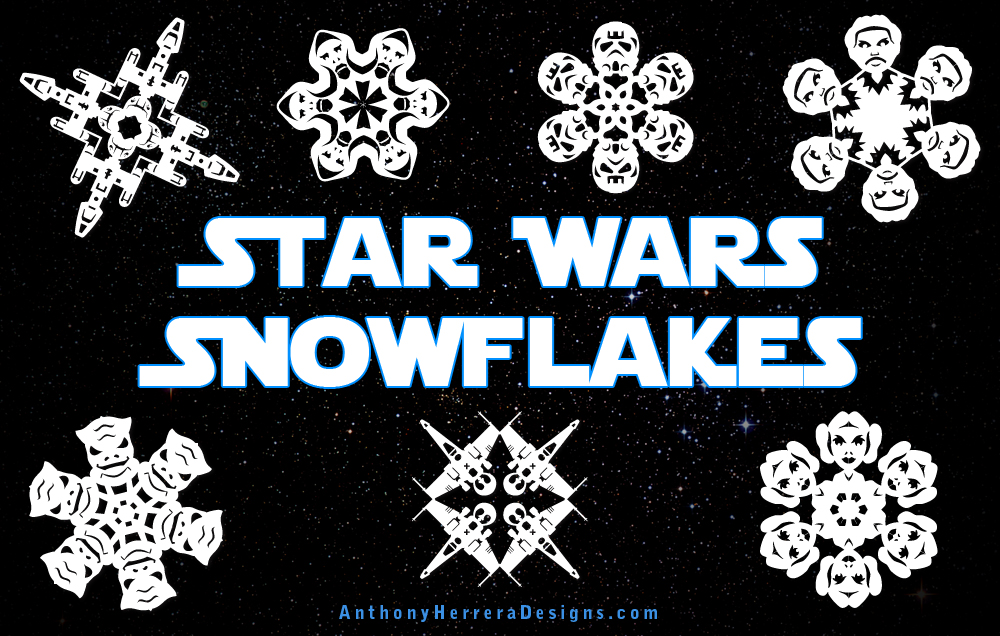 Star Wars Snowflakes  Anthony Herrera Designs