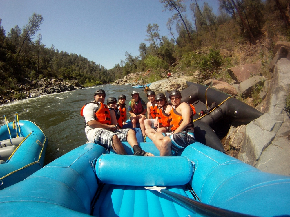 Commercial Rafting Trip