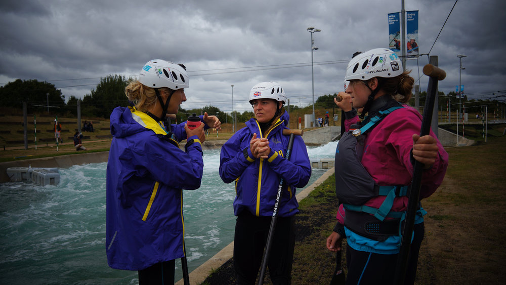 GB Women's team Strategy Session