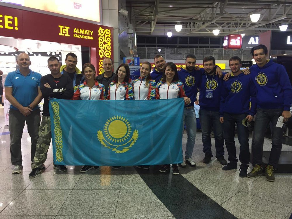 Kazakhstan's 3 rafting teams