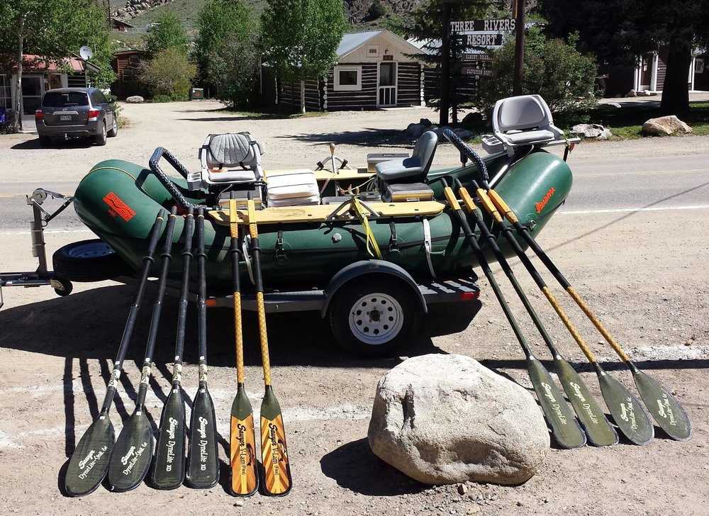Basic Oar Selection — Rafting Magazine