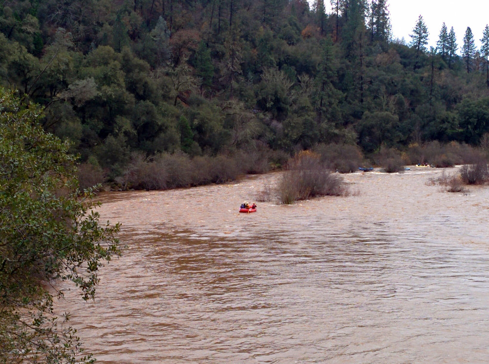 South Fork American River High Flows