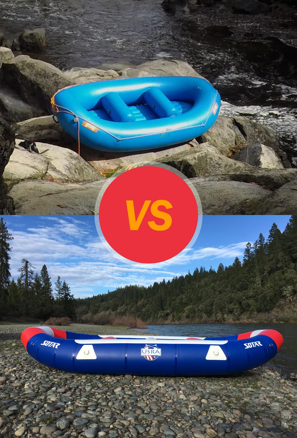 Rubber vs. Plastic Boats