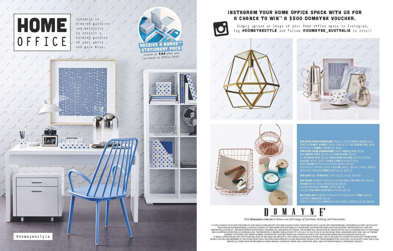 Domayne - Home office — Emily Fitzpatrick