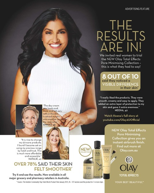 Olay Total Effects Ad