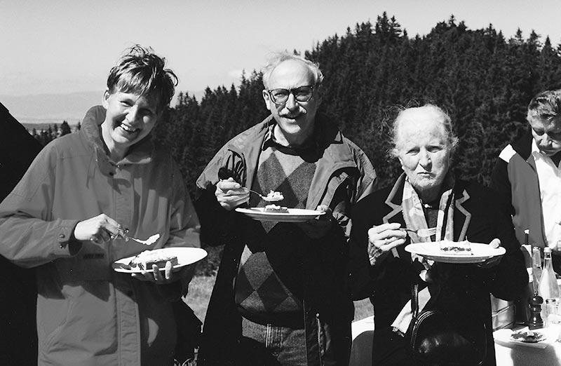 Firmenwanderung auf den Ochlenberg 1996