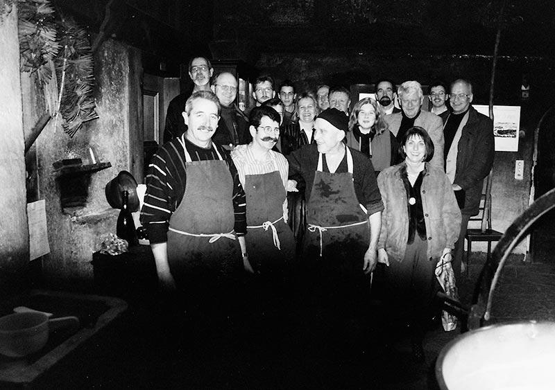 Firmenausflug in die Emmentaler Schaukäserei 1997