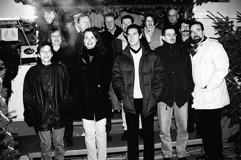 Jahresabschlussessen im Zirkus Gasser 1999