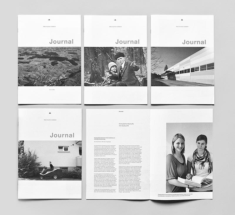 Seit 2006 erscheint regelmässig das Treuhand Gerber Journal mit interessanten Informationen für Kunden und Interessierte.