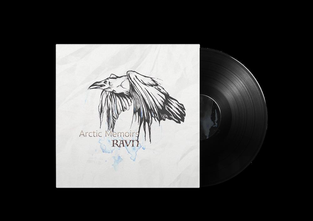Arctic Memoirs   Cover art and design for Alaskan/Norwegian folk music