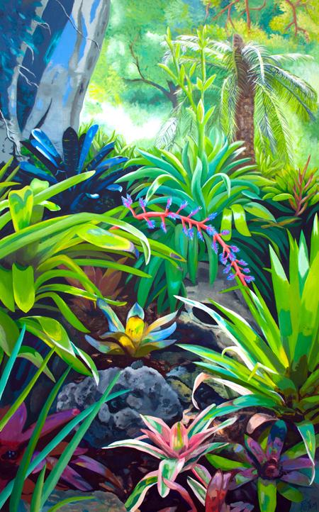 Botanic Garden Bromeliads