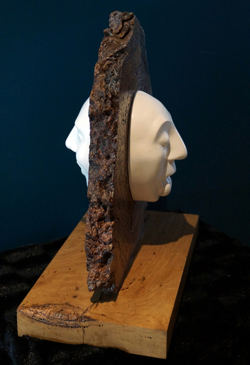 About Face (side view)