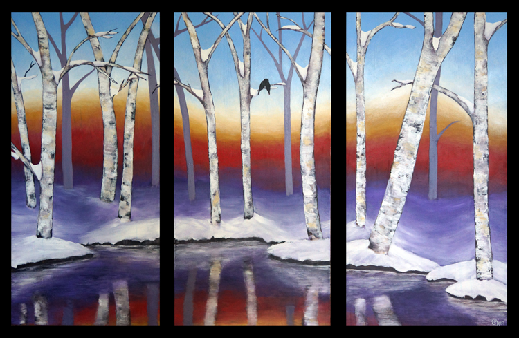 The Snow (Triptych)