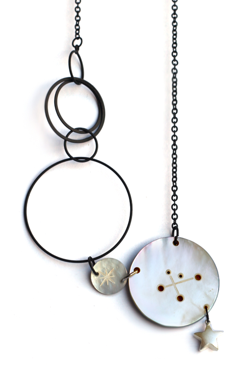 Collier constellation étoile