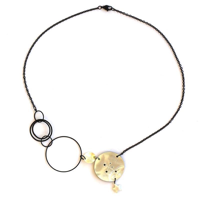 Polynesian sky necklace