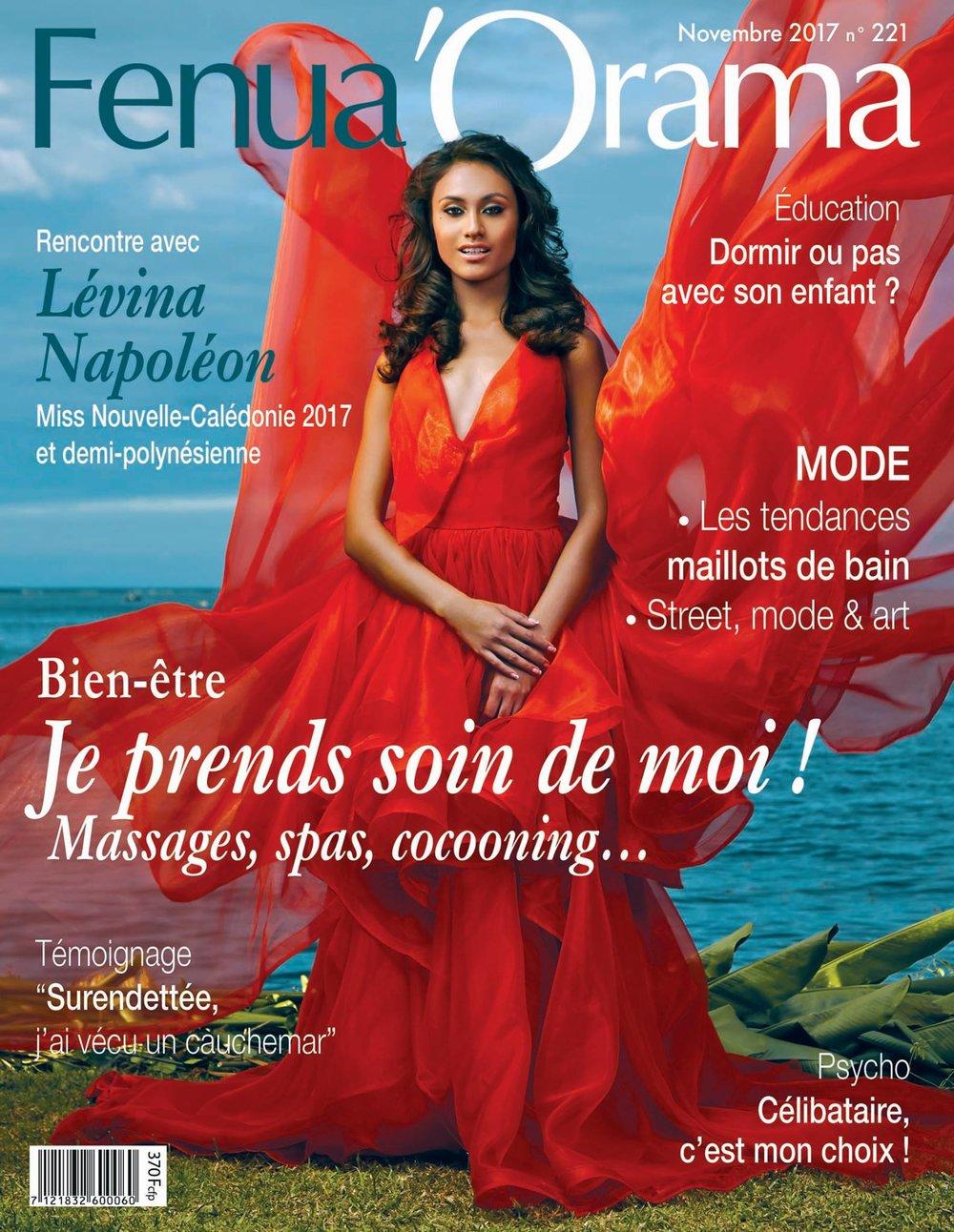 FENUA'ORAMA -Novembre 2017 - Présentation de la collection Mademoiselle M rubrique tout nouveau, tout beau! p.13