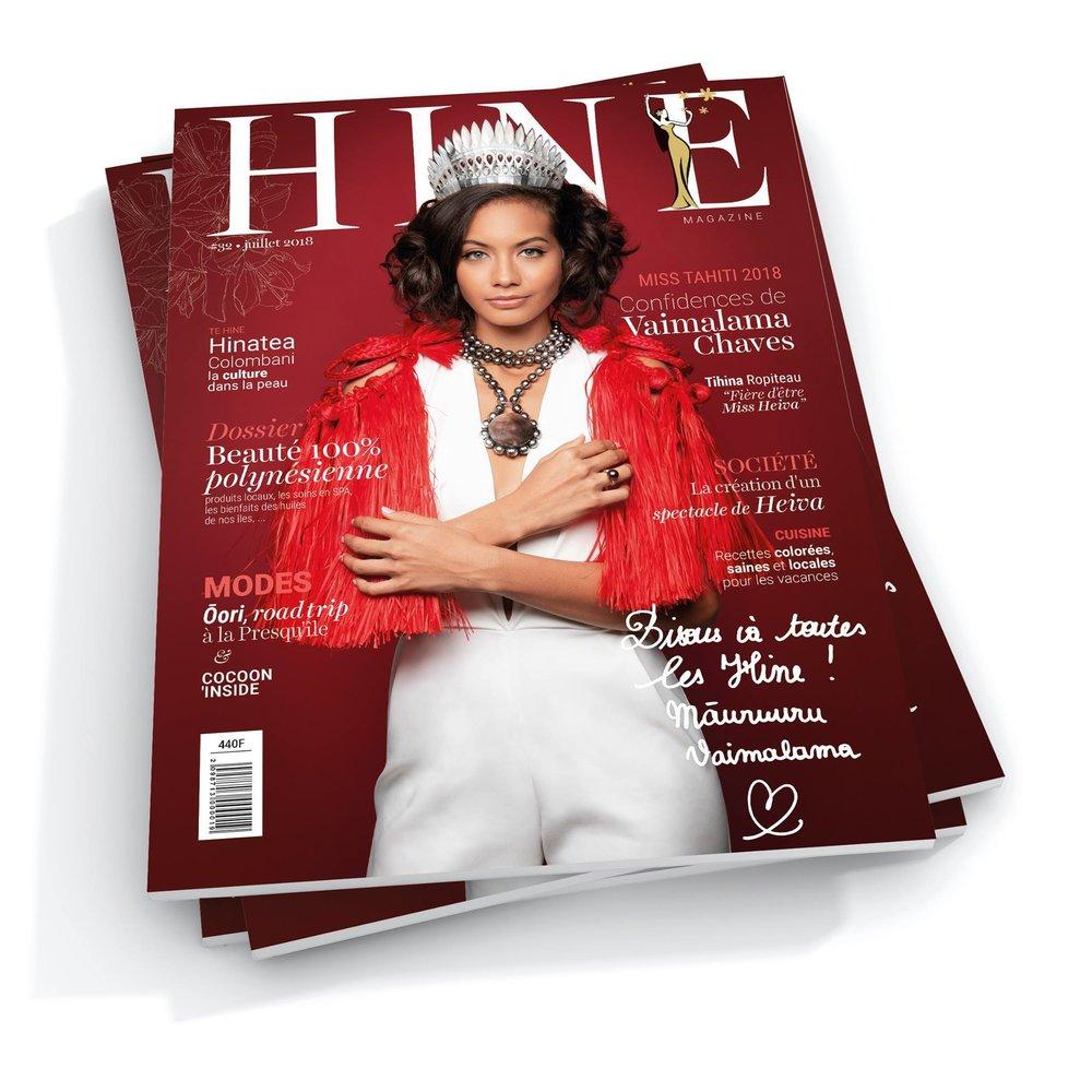 HINE -JUIllet 2018 - Mode Cocoon - Présentation de la collection diamant de l'ocean et basic by Miel.A Tahiti