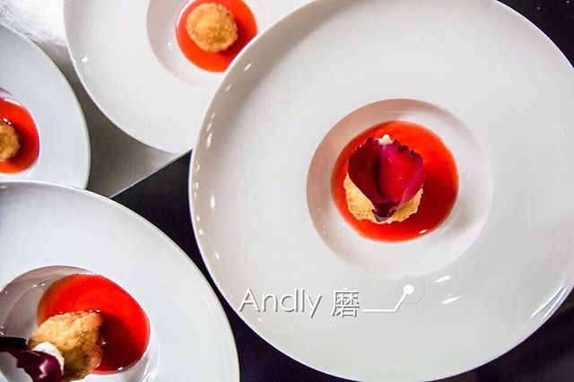 Crayfish Ball in Rose Sauce #chinesecuisine #perthblogger #perthfoodie #perthfood #instafood #andlyprivatekitchen #delicious #mothersday #seafood