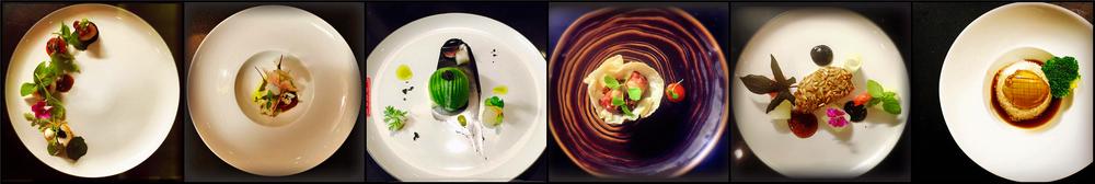 各种创新形式的中式菜肴