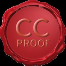 Veel problemen kunnen voorkomen worden door tijdig ideeën vast te leggen. Dat is de gedachte achter 'CC proof'. Voor meer informatie: klik het logo.
