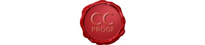 Een idee beschermen? Klik het logo voor meer over 'CC proof'.