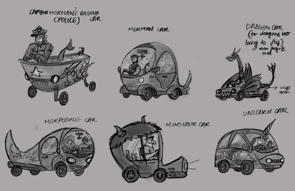 Vehicles: Explorations