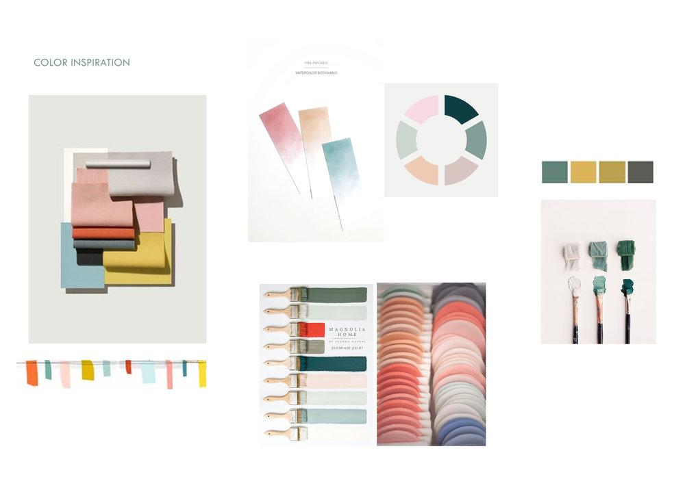 Color inspiration Wat zijn kleuren die passen bij Engel. En passen bij het seizoen. Willen we gaan voor donker of meer kleur?