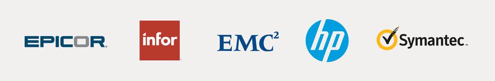 Epicor, Infor, EMC, HP