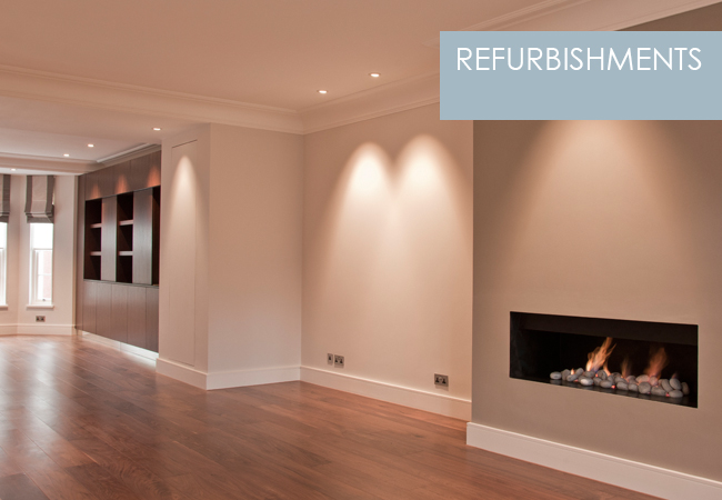 Refurbishments from Perring Design London