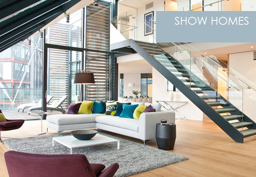 Show Homes interiors from Perring Design London