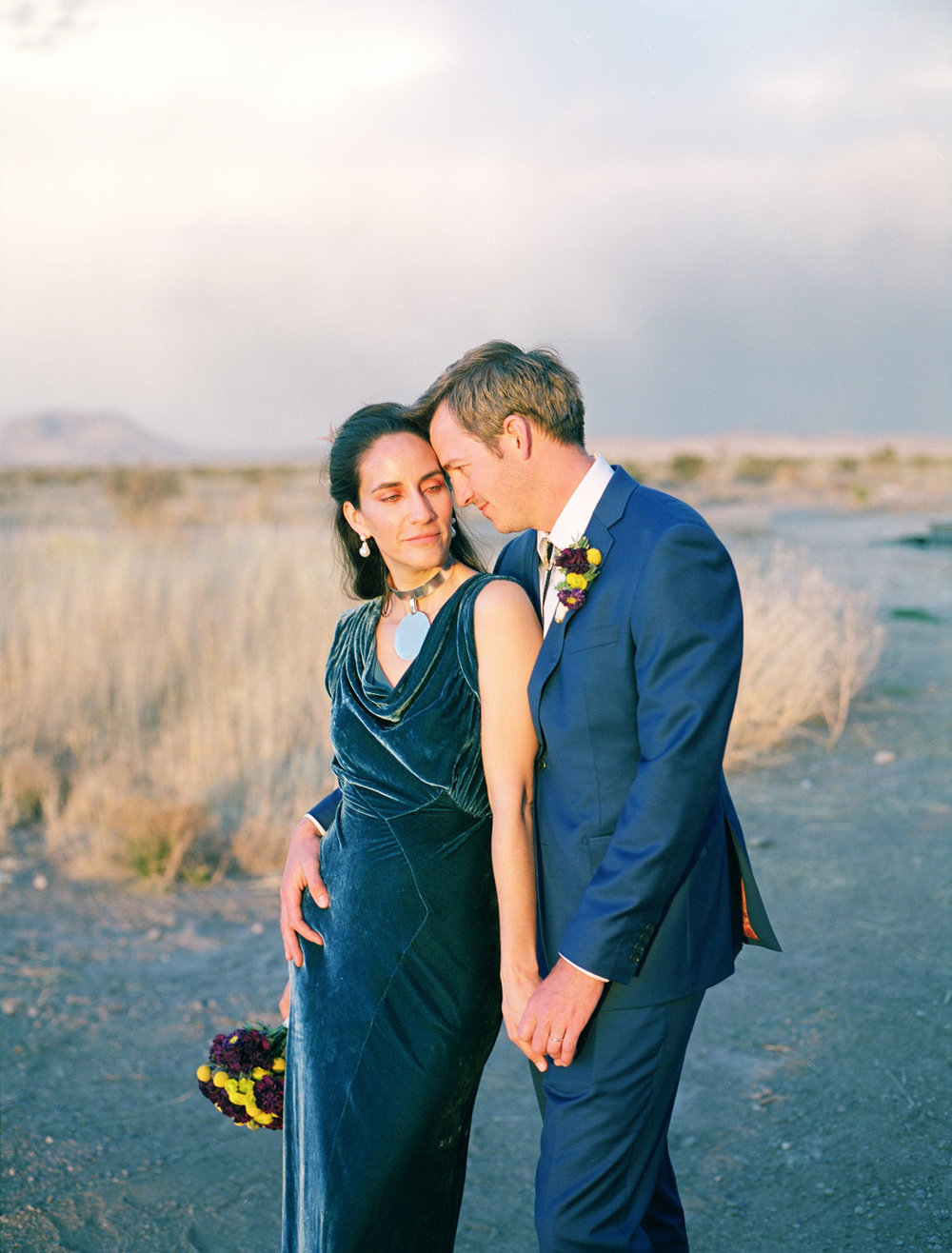 Alan + Taylor || An Intimate Wedding in Marfa, TX