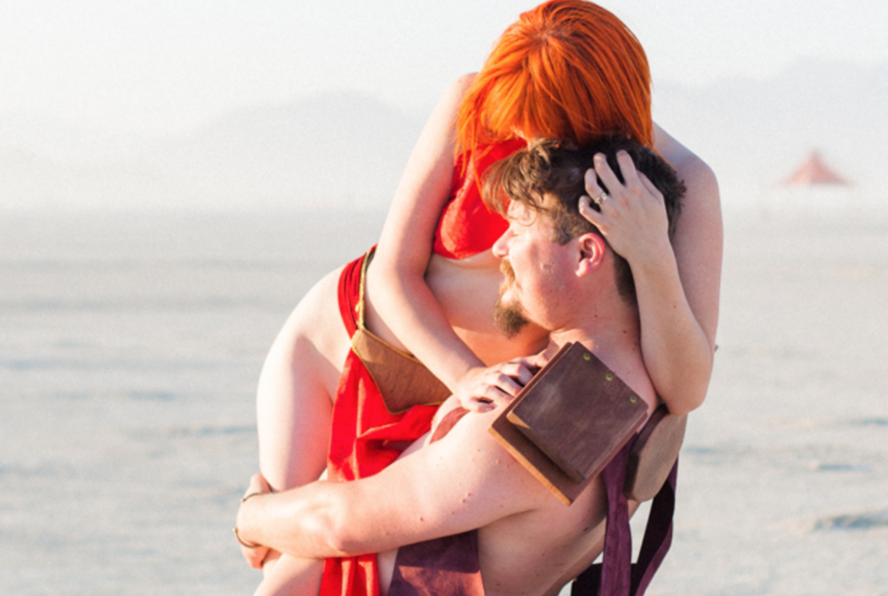 Angela + Michael || A Burning Man Destination Elopement