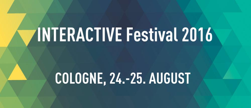 INTERACTIVE Festival - Screenshot (www.interactive-cologne.com, 23.05.2016)