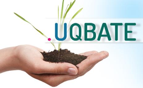 UQBATE Logo (Quelle: http://www.telekom.com/uqbate)