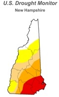 These are the regions most effected by the drought.