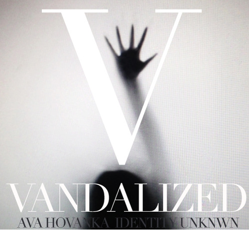 "This is the Official EP cover for Ava Hovanka's very 1st EP titled ""Vandalized"" production by musician Identity Unknwn + Carl Rushing. The EP is set to release Feb.14.2015 on iTunes + Google Music"