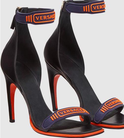 Credits, Polyvore via Versace.com