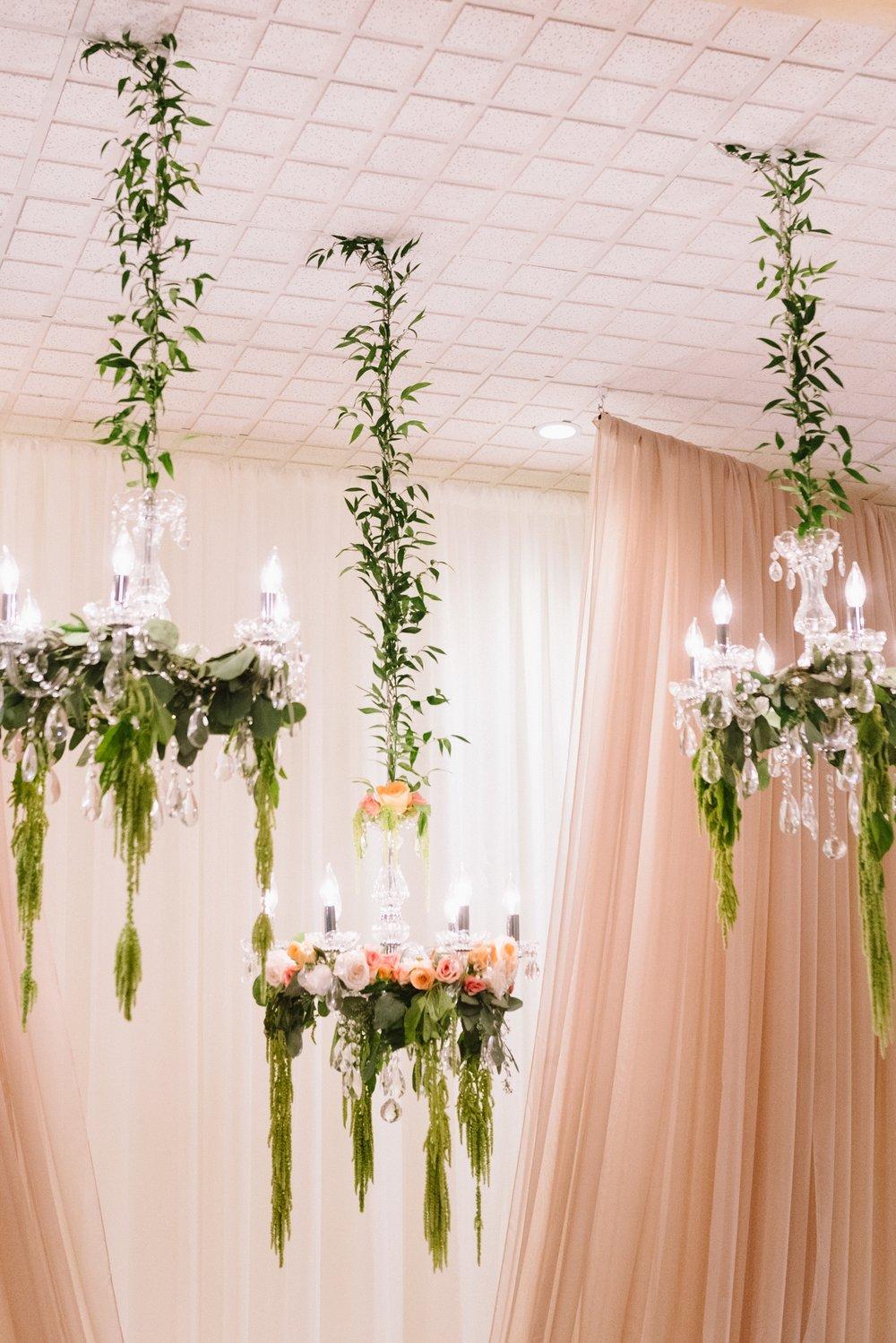 floral-greenery-chandeliers