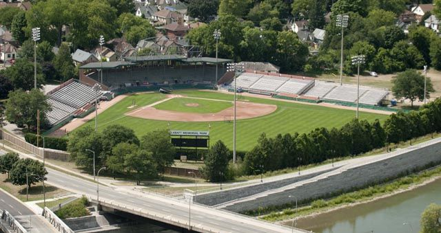 Labatt Park is one of Canada's oldest baseball grounds and home to the London Majors baseball team, sure to entertain the gentlemen in your crowd. Photo Source:  The London Free Press .